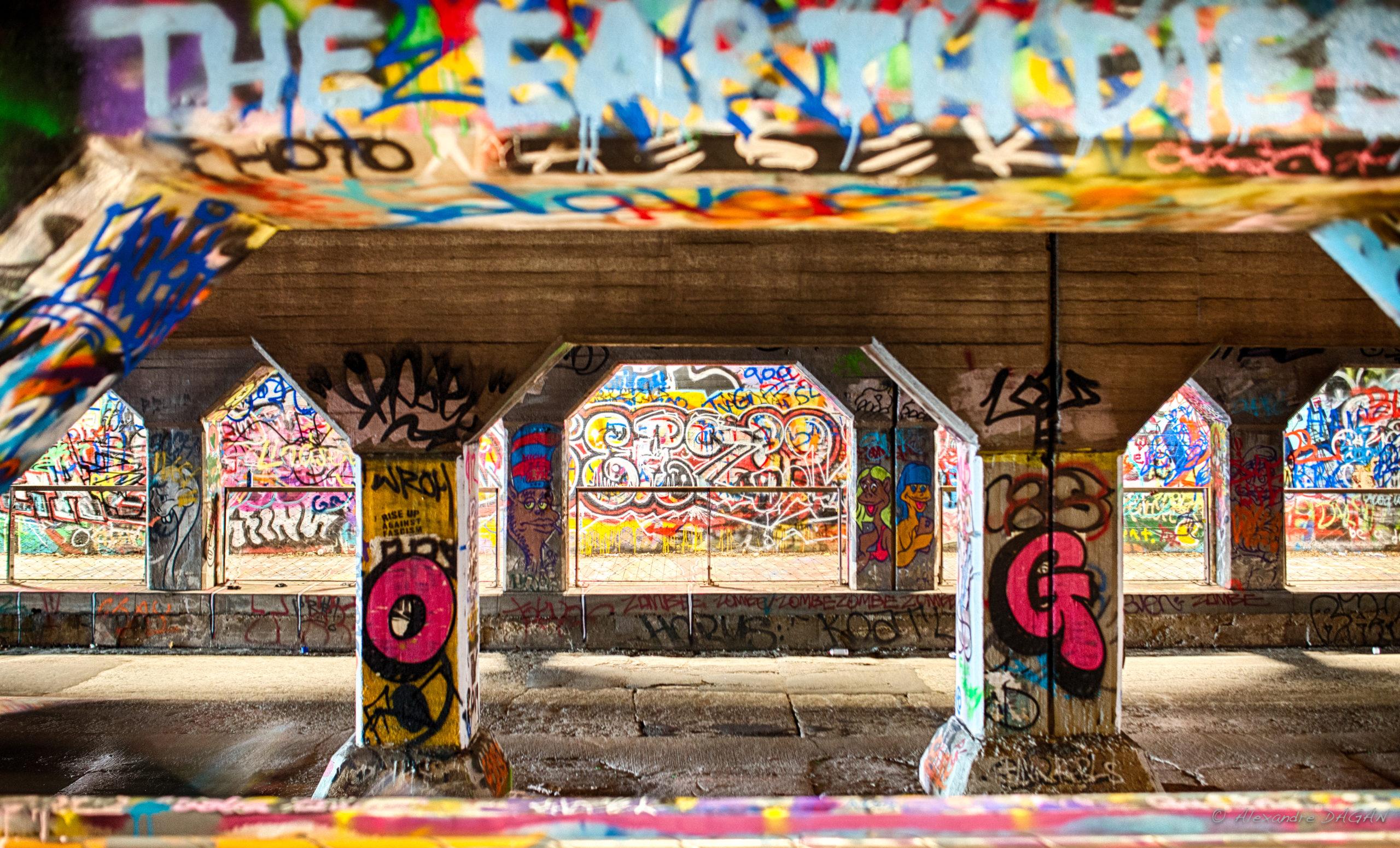 Krog street tunnel, Atlanta, Georgia, United States