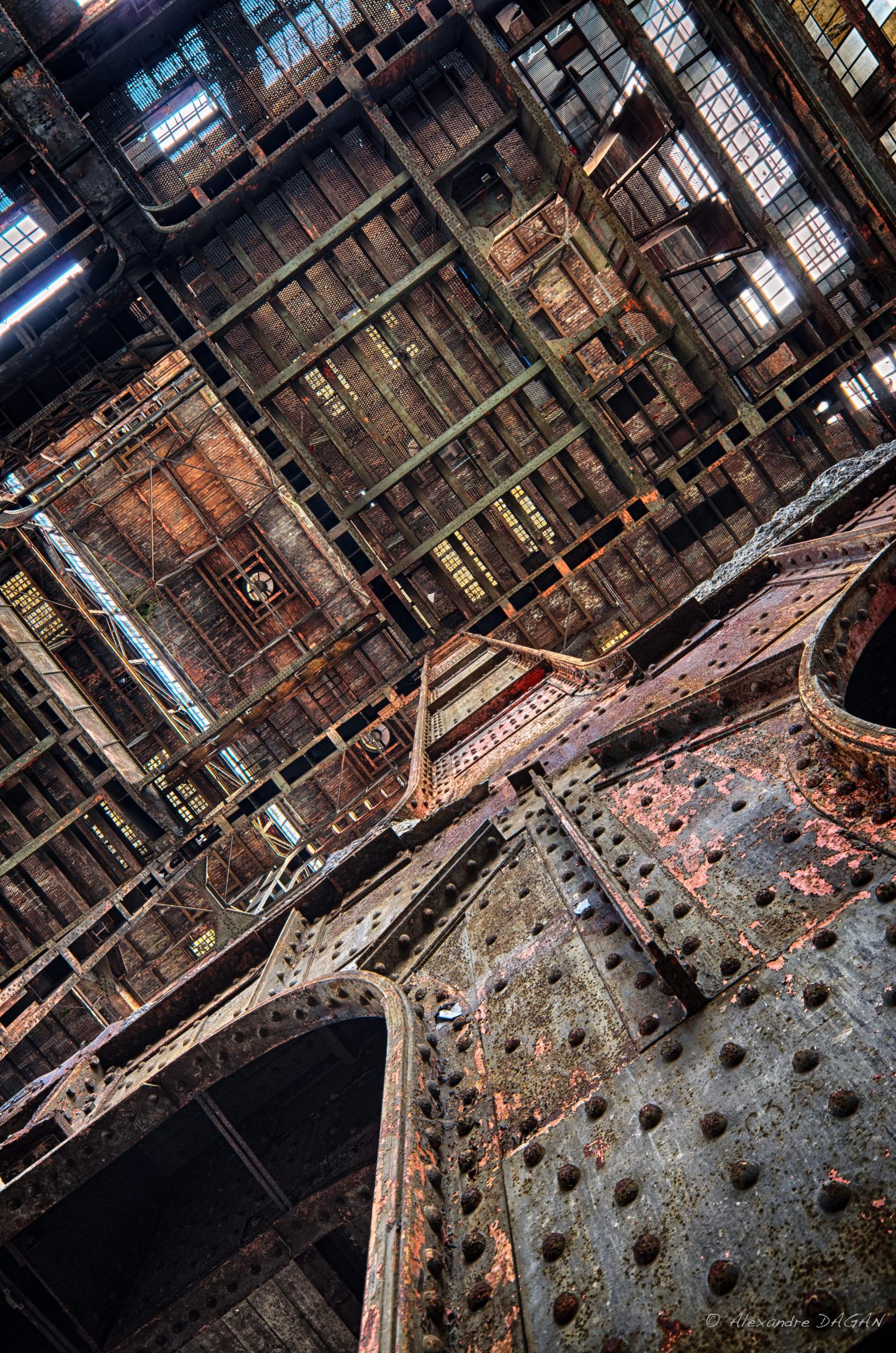 Rusty factory